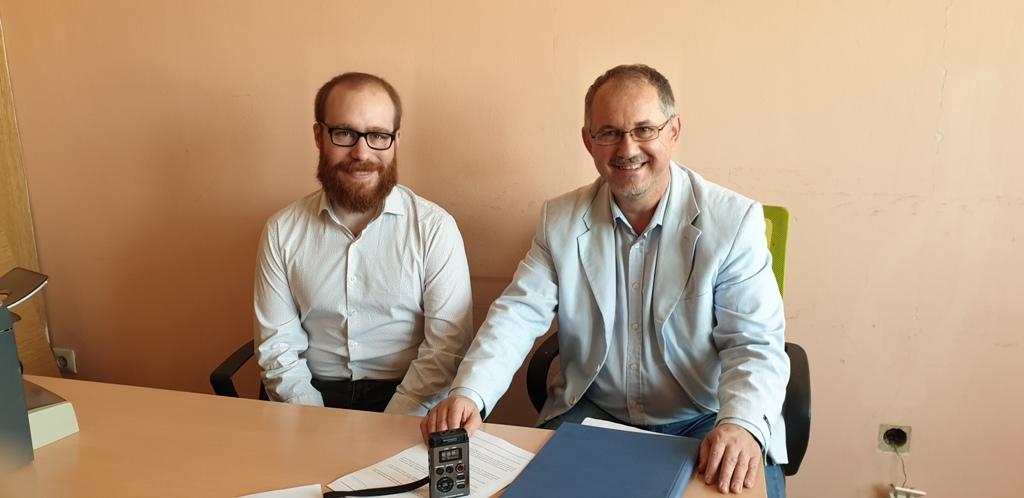 Interview with Ignacio Montero Castro and Ferenc Bagi, Radio Vojvodina (Serbia)