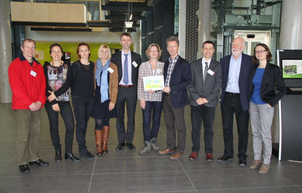 Kick-Off meeting Tulln: Work package leaders